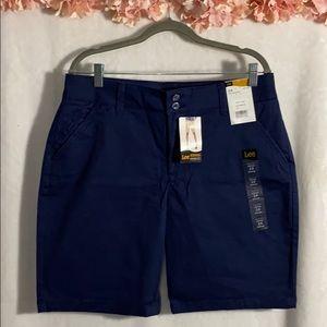 Brand New Lee ladies Bermuda shorts size 14m